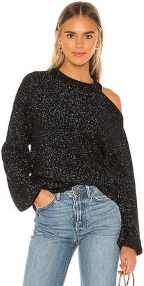 Velvet by Graham & Spencer Adrienne Cold Shoulder Sweater