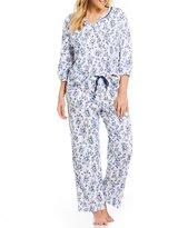 Karen Neuburger Plus Ditsy Floral Pajamas