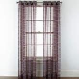 Studio By Jcp Home Studio Phoenix Sheer Grommet-Top Curtain Panel