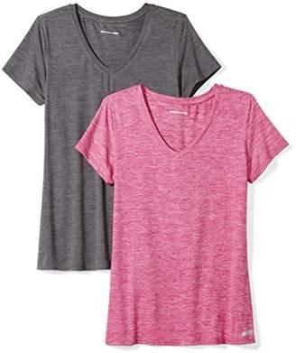 Amazon Essentials 2-Pack Tech Stretch Short-Sleeve V-Neck T-ShirtXL