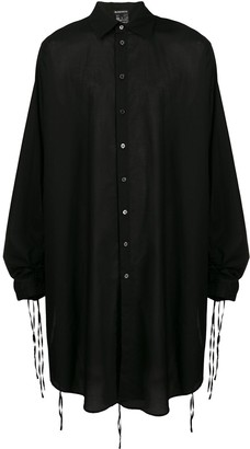 Ann Demeulemeester Oversized Draped Shirt