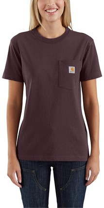 Carhartt Women's Size K87 Workwear Pocket Short Sleeve T-Shirt