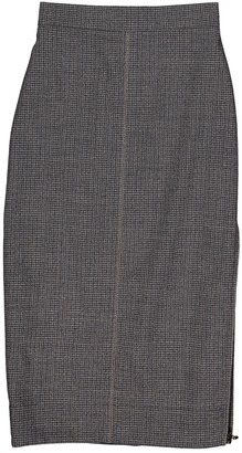 Fendi Brown Wool Skirt for Women