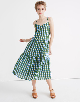 Madewell x SZ Blockprints Tiered Dress