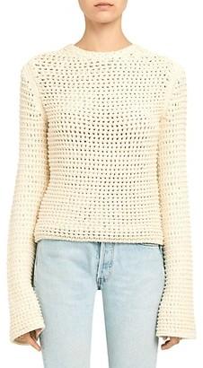 Theory Mesh Knit Sweater