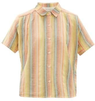 Ace&Jig Winnie Short Sleeved Cotton Shirt - Womens - Multi