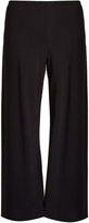 The Row Dala cropped wide-leg cady trousers