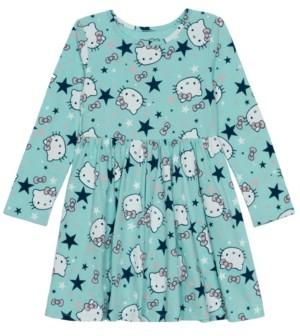 Disney Little Girls Star Wonderland Long Sleeve Dress