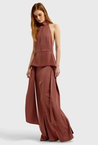 Aq/Aq Stasia Halterneck Maxi Dress