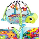 Jeteven Activity Gym Play Mat with toys and balls Child Gift
