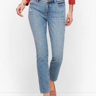 Talbots Slim Ankle Jeans - Sutter Wash