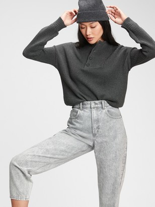 Gap Half-Button Sweater