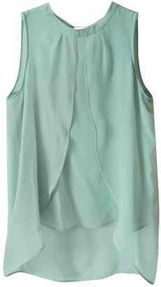 Marella Green Silk Top for Women