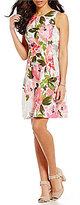 Vince Camuto Spring Floral Fit-and-Flare Dress
