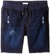Hudson French Terry Pull-On Shorts in Power Blue (Toddler/Little Kids/Big Kids)
