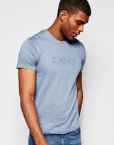 Dkny T-shirt Rubber Chest Print