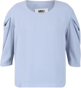 MM6 MAISON MARGIELA Draped Sleeves Blouse