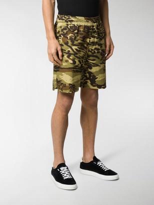 Givenchy Spirit Camouflage shorts