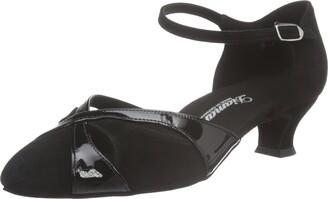 Diamant Women's 142-014-008 Dance Shoes Black Black Size: 2