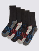Marks and Spencer 5 Pairs of Cool & FreshTM Sports Socks