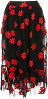 Simone Rocha floral skirt