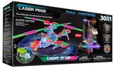 Laser Pegs 'Supercopter' 30-In-1 Light-Up Toy Kit