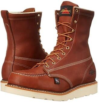 Thorogood American Heritage 8 Steel Toe Wedge (Tobacco) Men's Work Boots