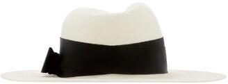 Ruslan Baginskiy Bow Detailed Fedora Hat