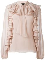 Giambattista Valli ruffled blouse
