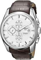 Tissot Men's T0356271603100 Couturier Chronograph Dial Watch