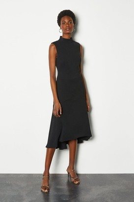 Karen Millen Soft Midi Day Dress
