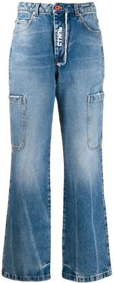 Heron Preston washed effect baggy jeans