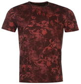 Firetrap Blackseal Skull T Shirt