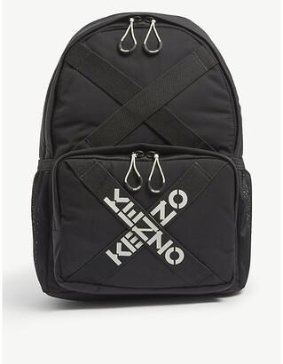 Kenzo Sport logo-print nylon backpack