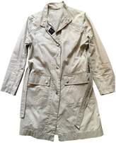 Fay Beige Cotton Trench Coat for Women
