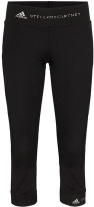 adidas by Stella McCartney Mesh-Panelled Leggings