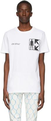 Off-White White Half Arrows Man T-Shirt