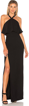 Amanda Uprichard Piazza Maxi Dress