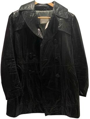 Meteo Orange Leather Coats