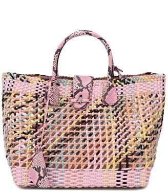 Ermanno Scervino Weave-Effect Tote Bag