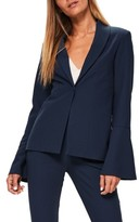 Missguided Women's Bell Sleeve Blazer