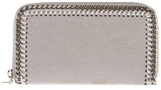 Stella McCartney Grey Falabella Shaggy Deer Wallet
