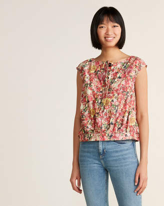 Marni Sleeveless Floral Blouse