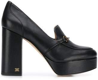 Sam Edelman block-heel platform loafers