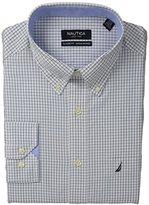 Nautica Men's Graph Check Button-Down Dress Shirt