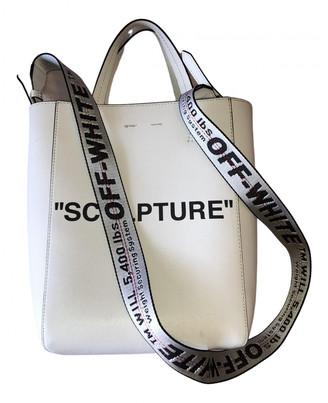 Off-White White Leather Handbags