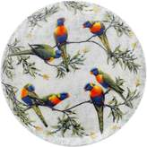 Maxwell & Williams Cashmere Birds of Australia Lorikeets Treetop Plate, 20cm