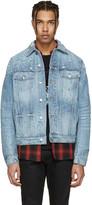 Amiri Blue Shotgun Denim Trucker Jacket