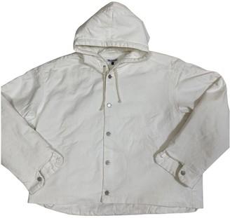 Hed Mayner White Denim - Jeans Jackets