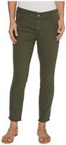 NYDJ Alina Ankle w/ Fray Hem in Topiary Women's Jeans